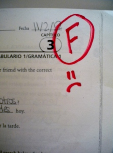Image: Failing Grade