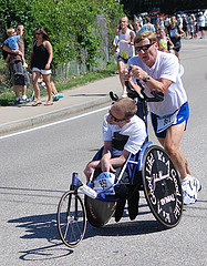 Image: Rick and Dick Hoyt